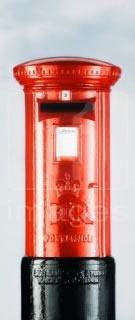 Hög säkerhet på en postbox till privatpersoner i Göteborg